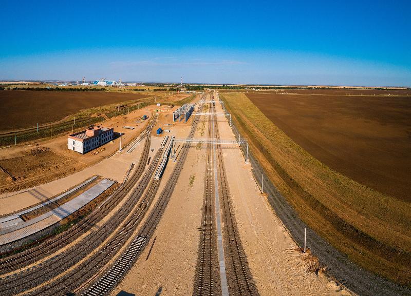 «ЕвроХим-ВолгаКалий» строит собственную станцию