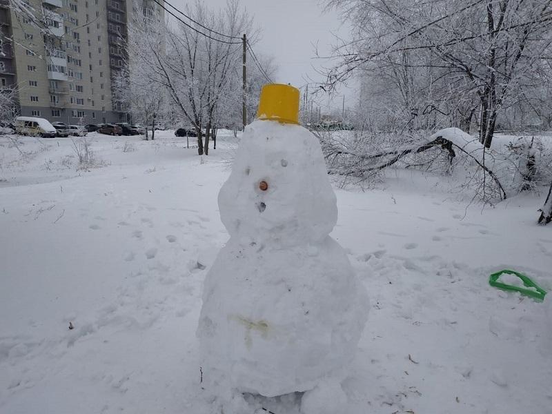 Мороз вернулся в Волгоград