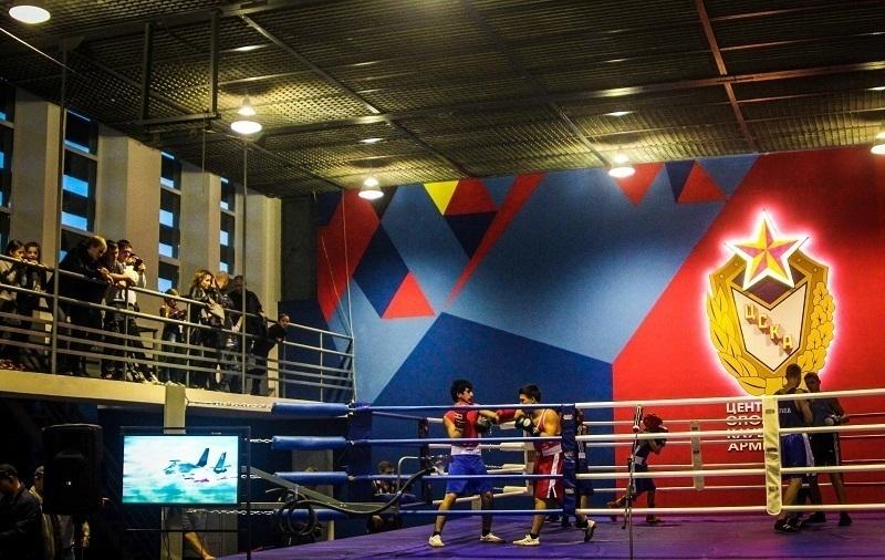 Новая тренировочная площадка ЦСКА открылась вДоме офицеров вВолгограде