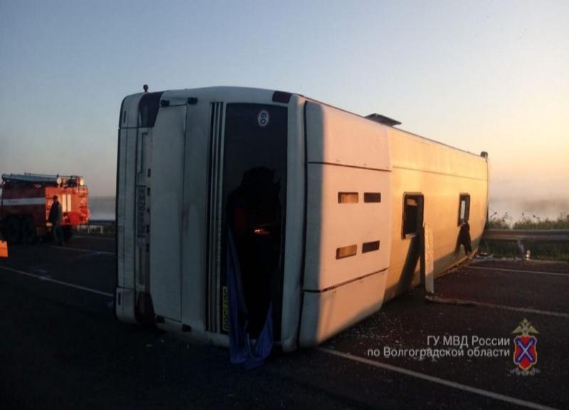 Стали известны подробности смертельного ДТП с рейсовым автобусом под Волгоградом