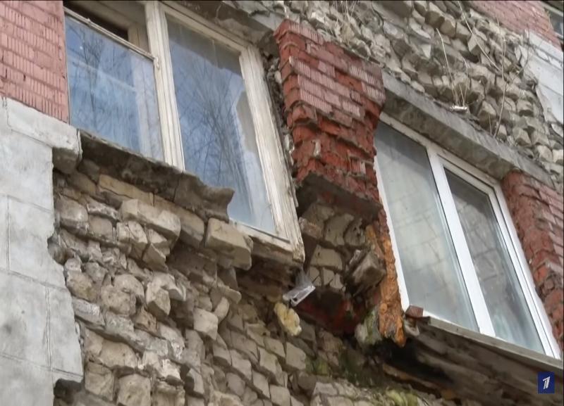 Федеральный канал просит Генпрокуратуру разобраться с разваливающимся общежитием в Волгограде