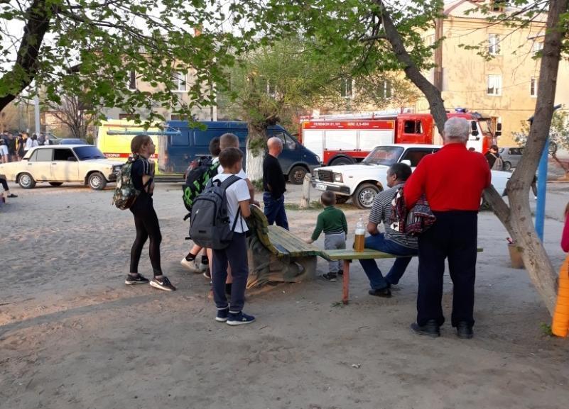 В жилом доме в Тракторозаводском районе Волгограда выгорела квартира