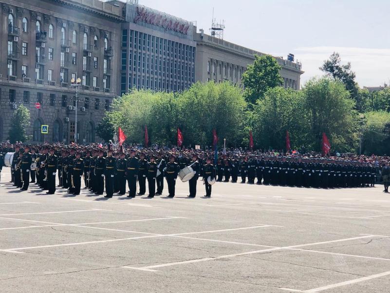 К торжественному маршу: в Волгограде начинается парад в честь Великой Победы