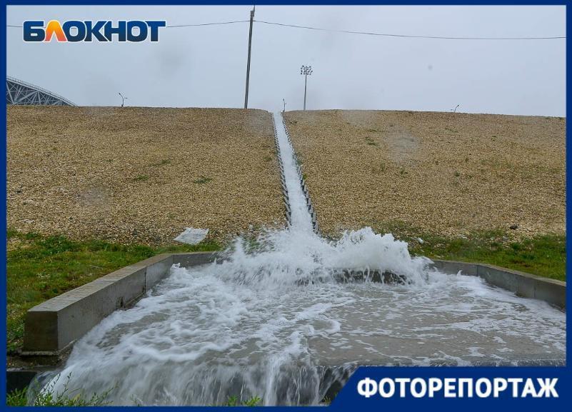 Как переносит очередной дождь «Волгоград Арена»: стадион в объективе фотографа