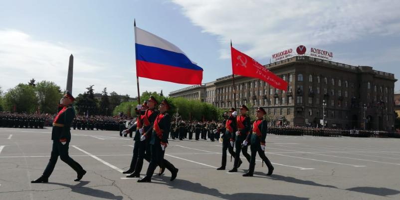 В городе – герое Волгограде завершился военный парад