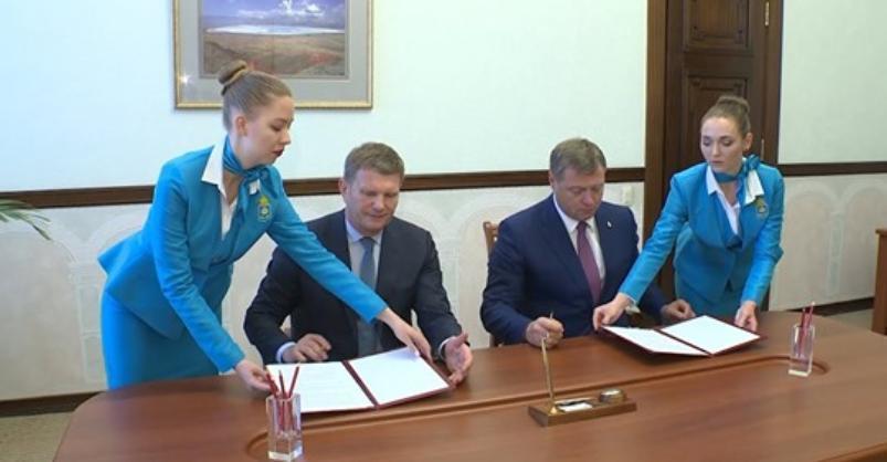 Губернатор Астраханской области и Олег Савченко подписали договор о создании особой экономической зоны