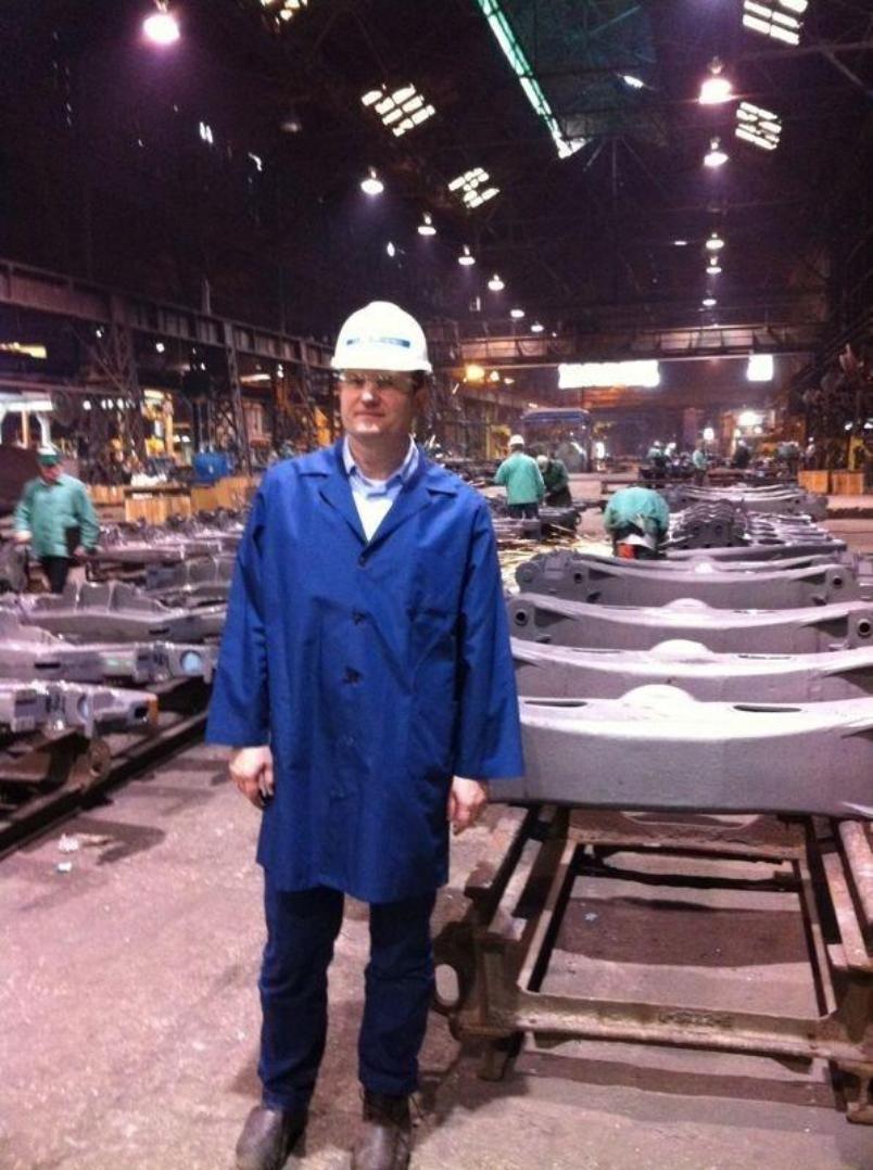 Олег Савченко проверил, как работает оборудование за 1,5 млрд рублей
