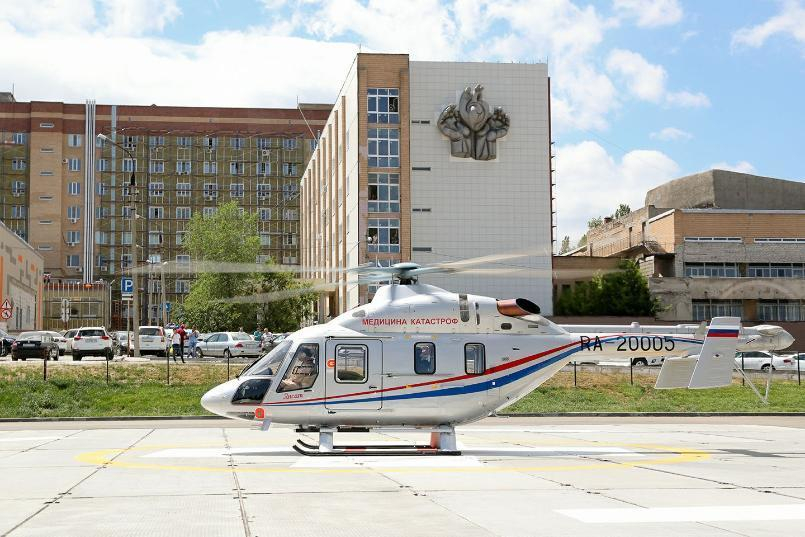 Один час полета медицинского вертолета в Волгограде оценили в 160 тысяч рублей