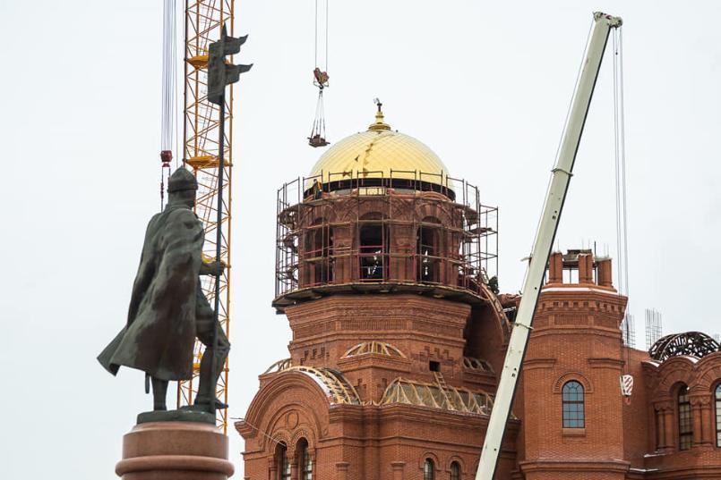 Строители храма в центре Волгограда получили госконтракт почти на 2 млрд рублей
