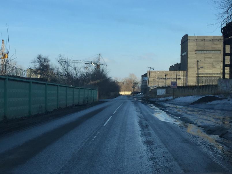 На построенной к ЧМ-2018 дороге в Волгограде уже несколько недель лежит труп собаки