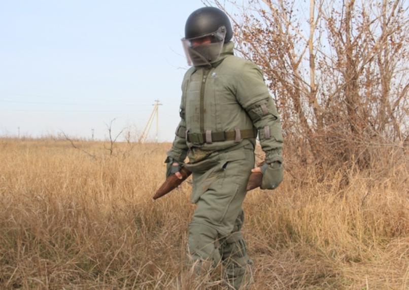 Триста саперов месяц разминировали поле под Волгоградом
