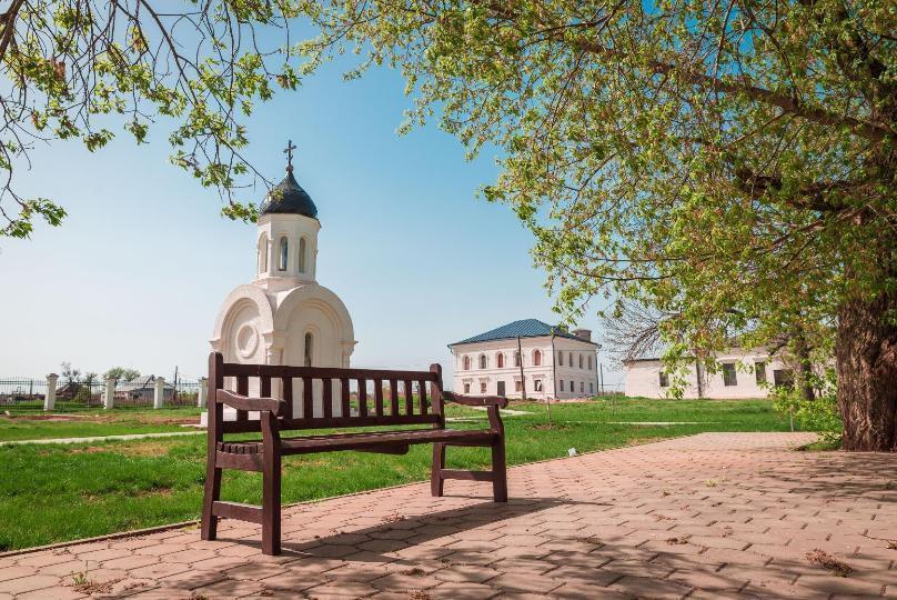 Волгоградская область гордится храмами и дубами