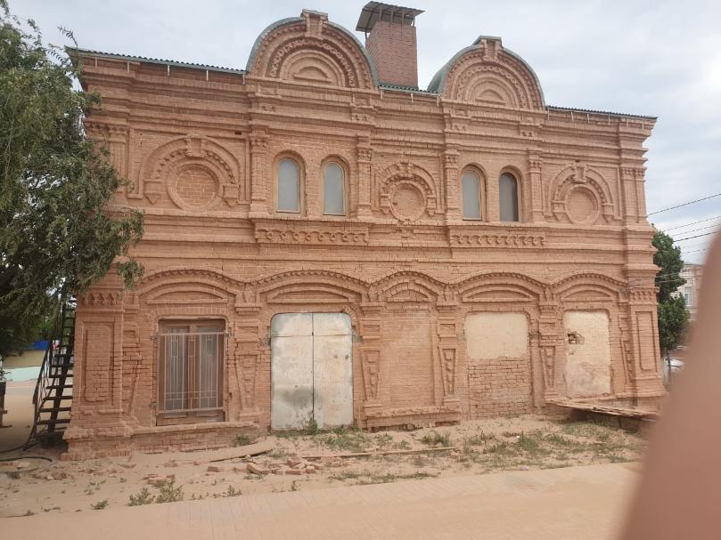 Под Волгоградом восстановили старый дом купца Лабыкина