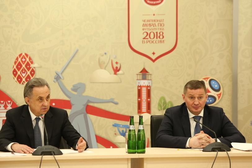Известные своим «красноречием» вице-премьер Мутко и губернатор Бочаров встретились в Москве