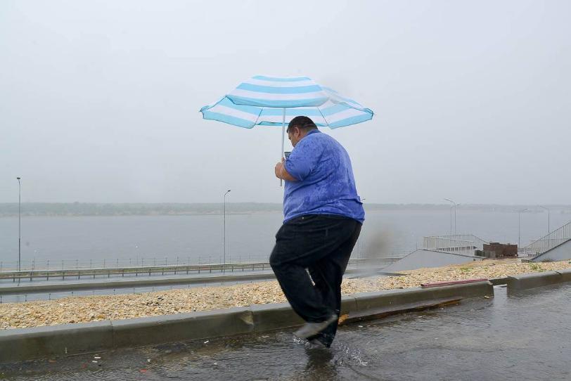 Жители Волгограда признались в любви к дождю