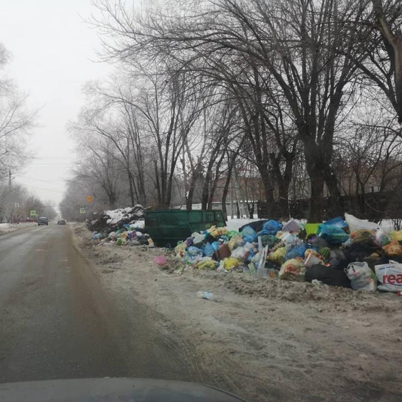 Мусорный коллапс в Волгоградской области: мужчина умер с пакетом отходов в руках