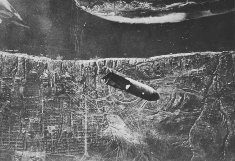 Люфтваффе атакует  Сталинград