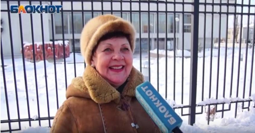 Волгоградцы попросили Деда Мороза прибавки к пенсии на Новый год