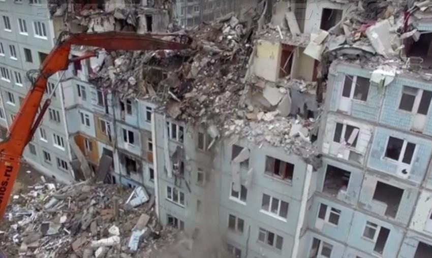 ВВолгограде закрыто дело овзрыве вдоме наКосмонавтов, 47
