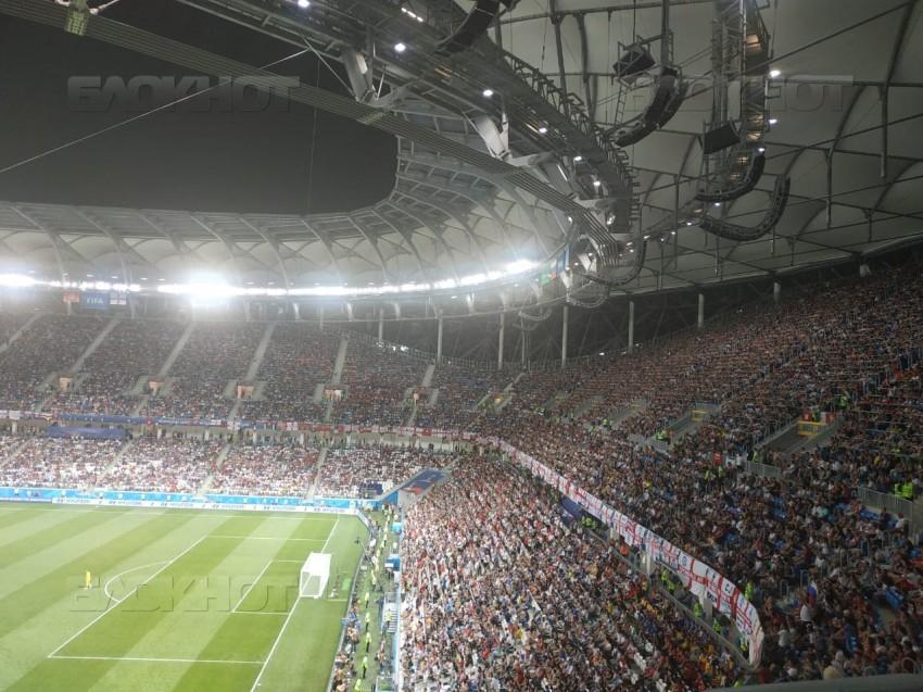 Сборная Хорватии сравняла счет в четвертьфинале с Россией