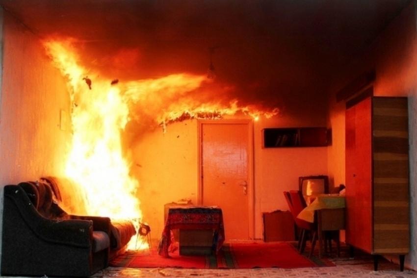 ВВолгограде врезультате сильного возгорания умер мужчина
