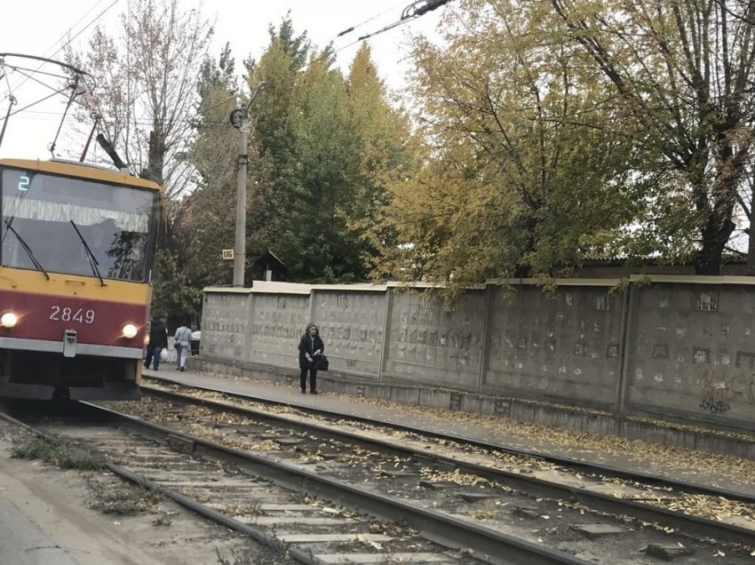 Волгоградские трамваи небудут ходить до«Детского центра» ввыходные