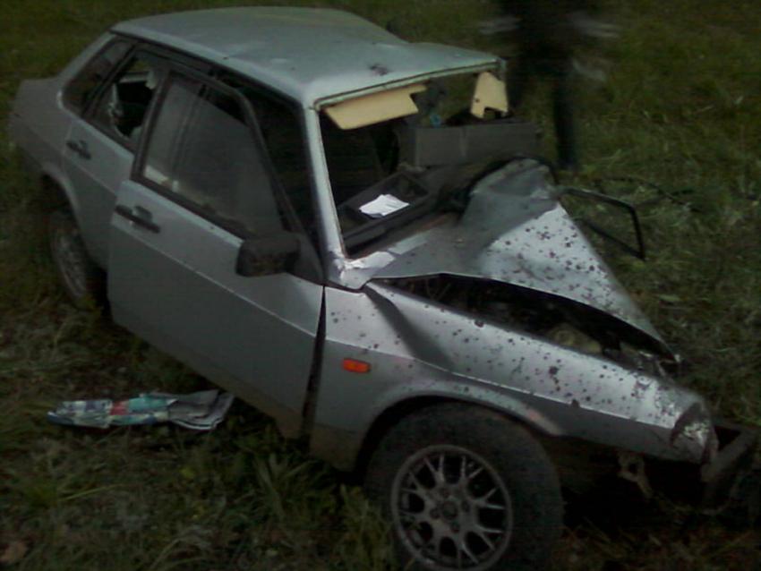 ВКамышине девятнадцатилетний шофёр ВАЗа умер, врезавшись виномарку