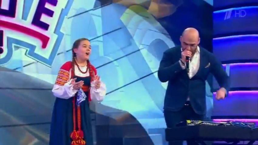 Молодая вокалистка изВолгограда устроила для Максима Галкина народную битбокс импровизацию