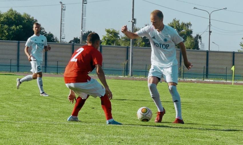 Волгоградский «Ротор» одержал победу вконтрольном матче