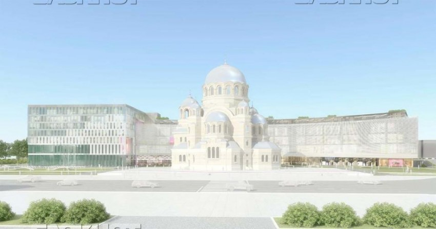 В Волгограде при строительстве храма Александра Невского нашли человеческие останки