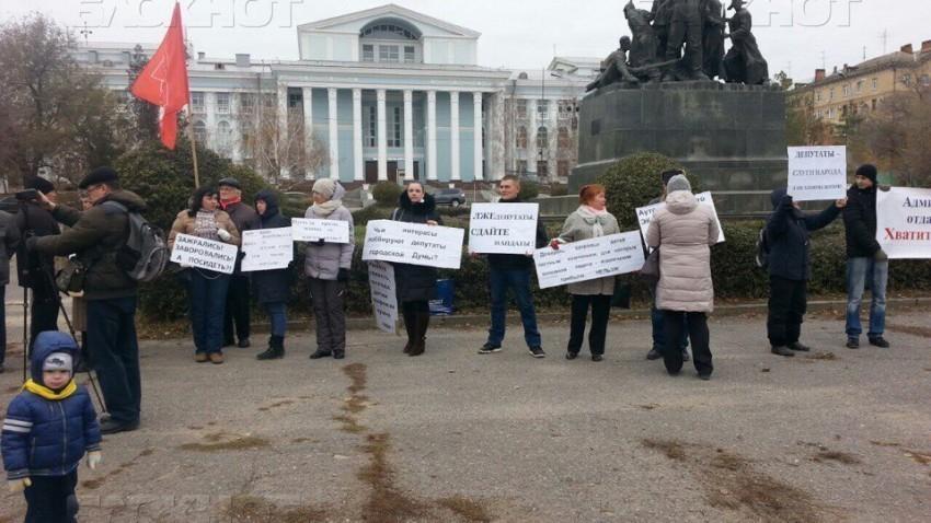 В Волгограде состоится третий пикет против аутсорсинга в детских садах