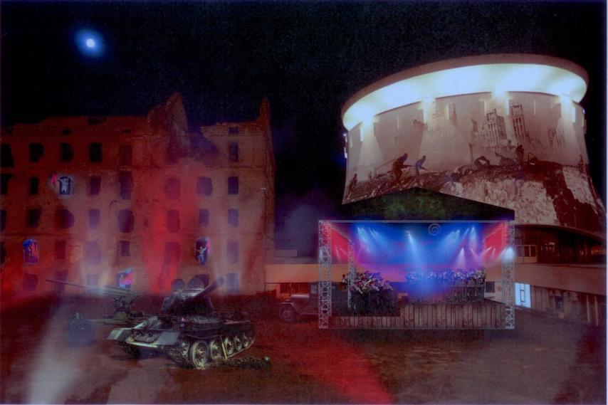 У стен разрушенной мельницы в Волгограде пройдет уникальный концерт и видеопредставление