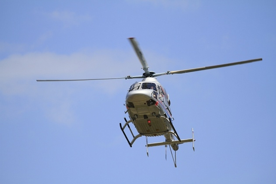 294 человека эвакуированы вертолетом в Волгоградской области