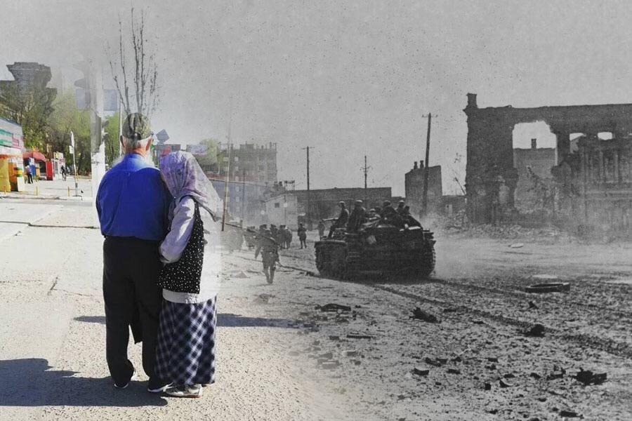 Тогда и сейчас: 40 км изуродованной взрывами земли сталинградцы превратили в новый город