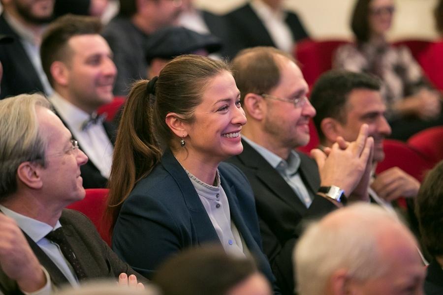 Красавица-ведущая Мария Ситтель приняла участие в церемонии награждения «ТЭФИ-Регион» в Волгограде