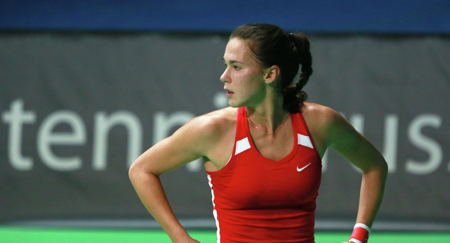 Вихлянцева снова проиграла в первом матче турнира