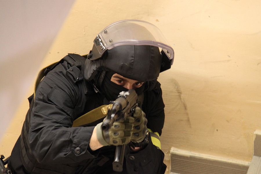 Антитеррористические учения в Волжском завершились