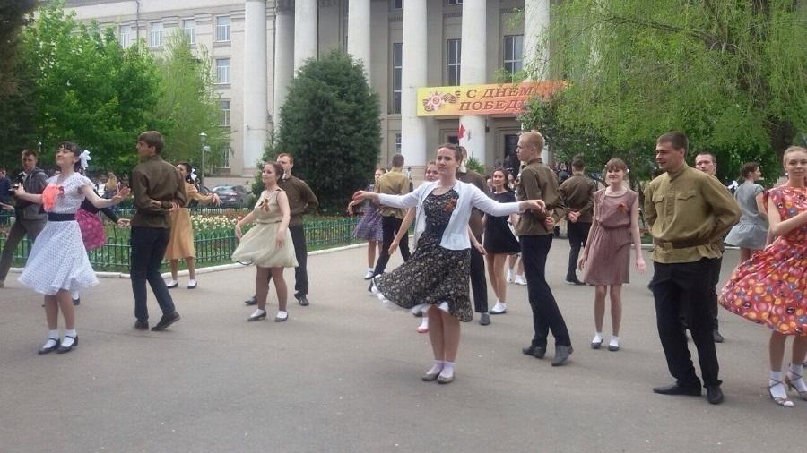 Студенты Волгограда стали участниками межнационального «Вальса Победы»