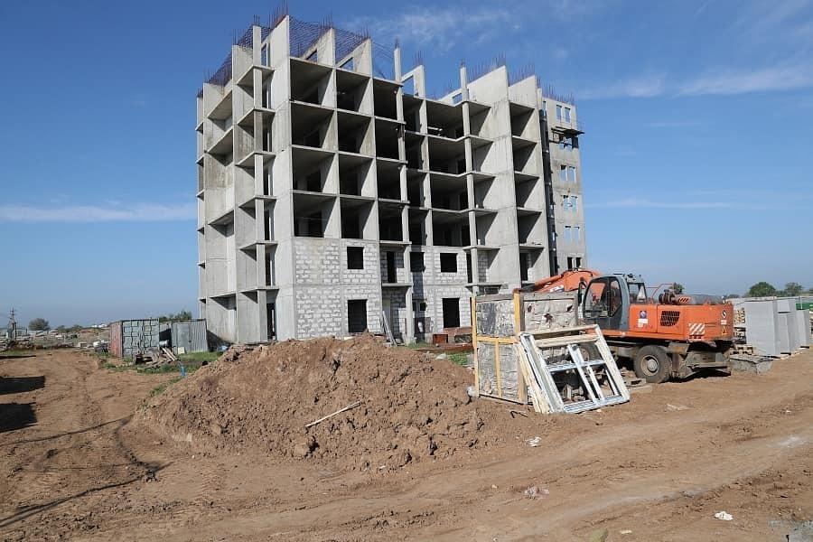 Половину жилья Волгограда строят всего в двух районах
