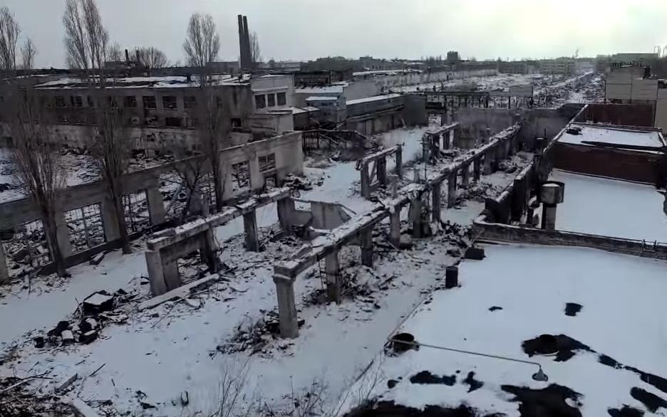"""Полная разруха"""": Волгоградский тракторный завод попал в объектив  квадрокоптера"""