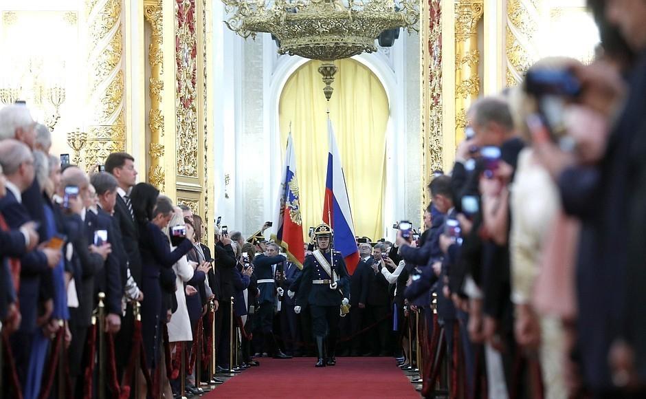 Андрей Бочаров побывал на инаугурации президента в Кремле
