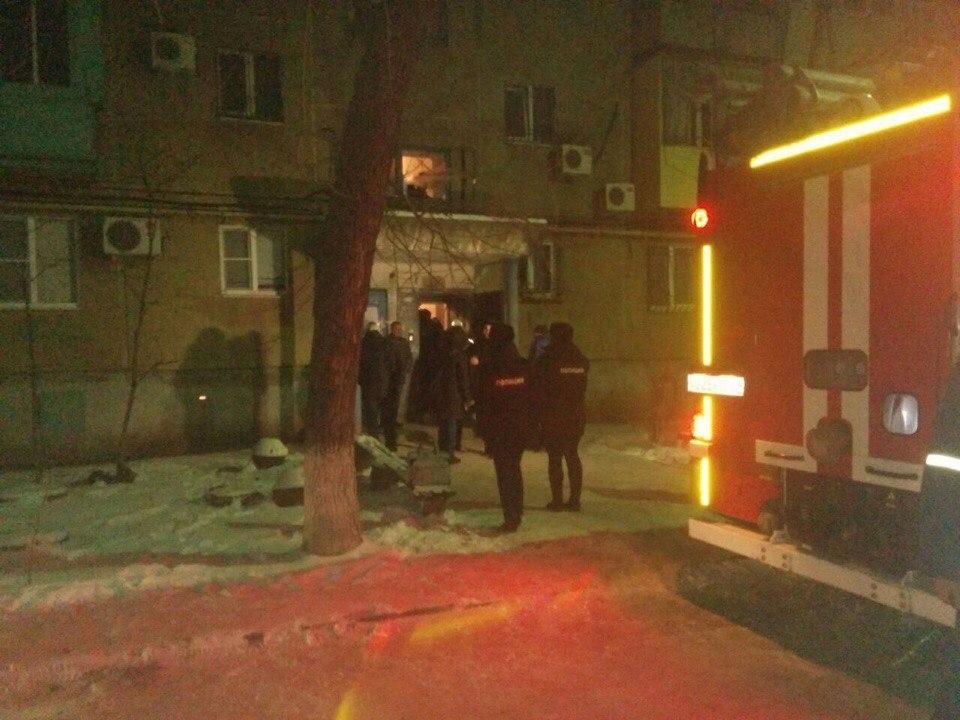 Опубликовано видео с места взрыва многоэтажки в Волжском