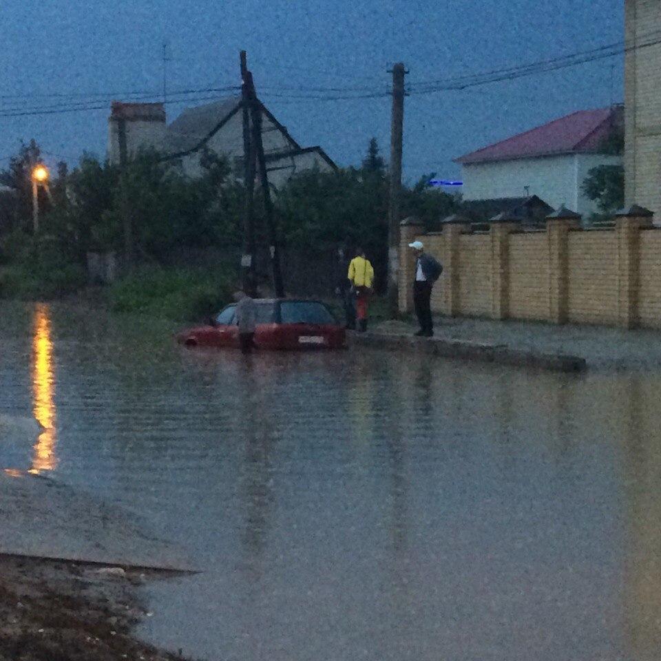 В Волгограде в ближайшие три дня снова ожидаются сильные дожди и грозы
