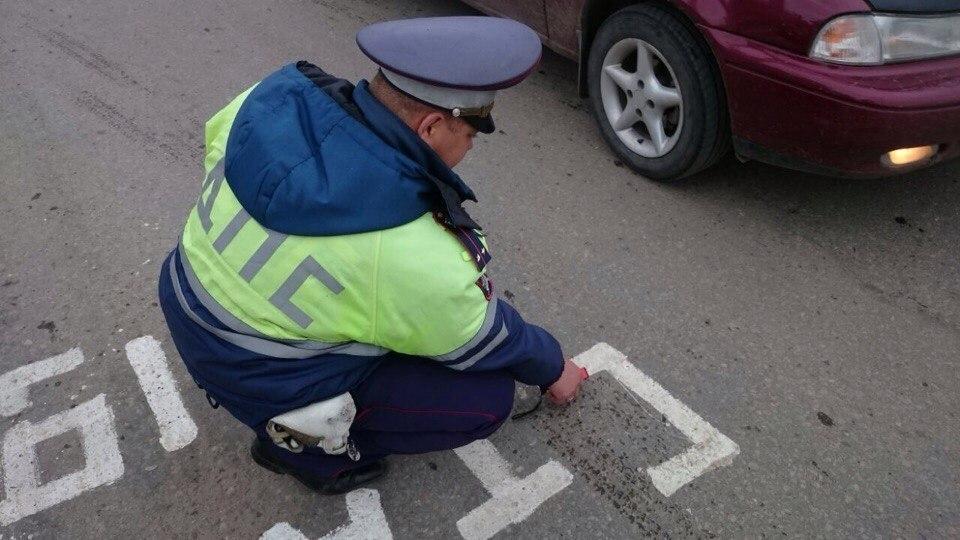 Полиция Волгограда задержала активиста, который раскрашивал «Ямы в цвет» на пути Лаврова и Штайнмайера