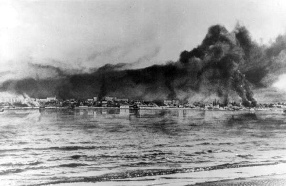 23 октября 1942 года – расстояние от переднего края боя до Волги сократилось до 300 метров
