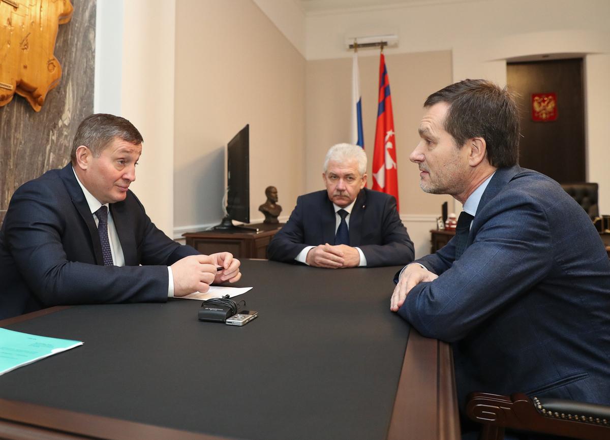 Новый руководитель Нижне-Волжского управления Ростехнадзора познакомился с волгоградским губернатором