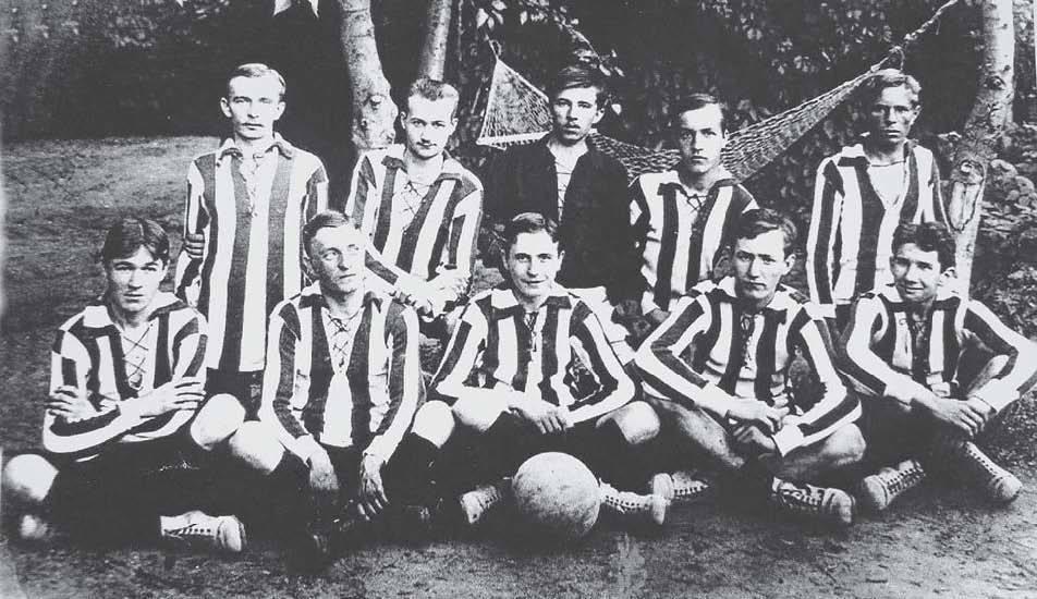 В начале 20 века в Царицыне было всего 20 футболистов