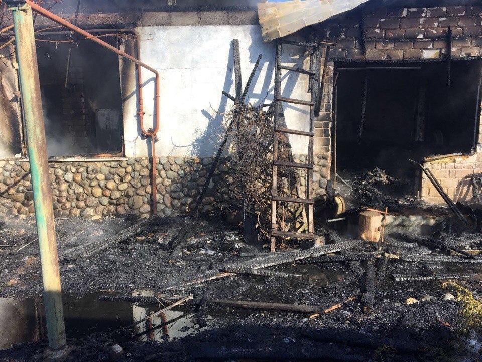 Названа причина пожара в доме волгоградской общественницы Елены Самошиной