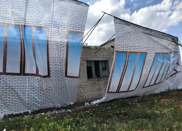 Потемкинские деревни обнаружили волгоградцы на шоссе Авиаторов