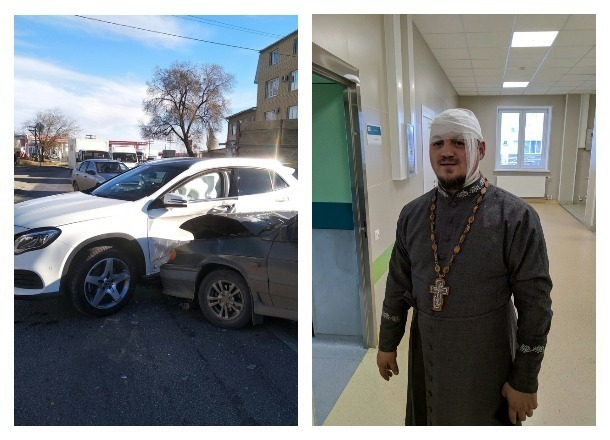 Волгоградцы ищут очевидцев ДТП, в котором пострадал священник